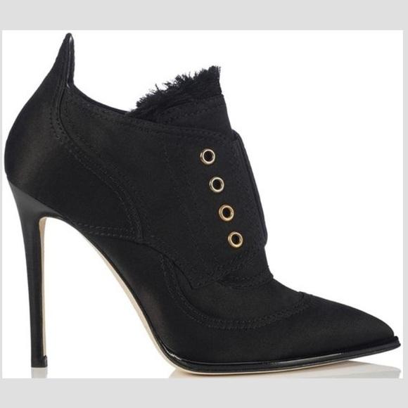 92cc7702420ae Jimmy Choo Shoes   Mitsu Satin Ankle Boots   Poshmark